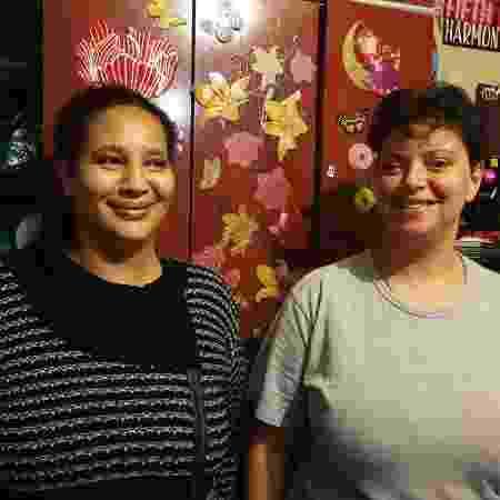 Aline e Karina são as coordenadoras da ocupação - UOL - UOL
