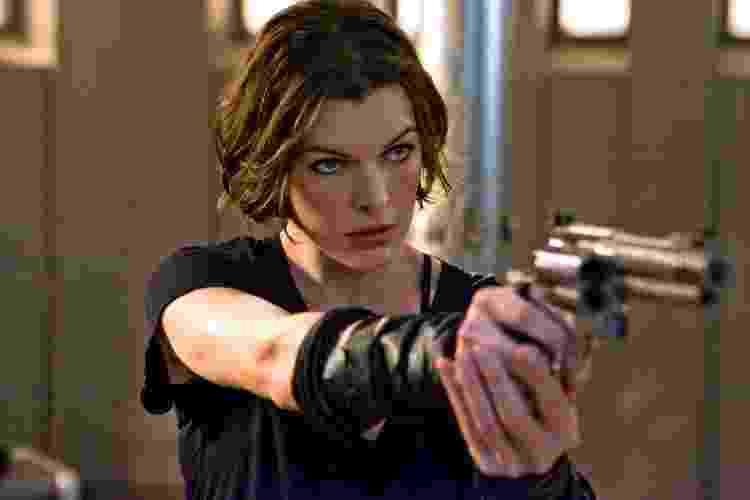 "Milla Jovovich em ""Resident Evil 4: Recomeço"" - Divulgação/Screen Gems - Divulgação/Screen Gems"