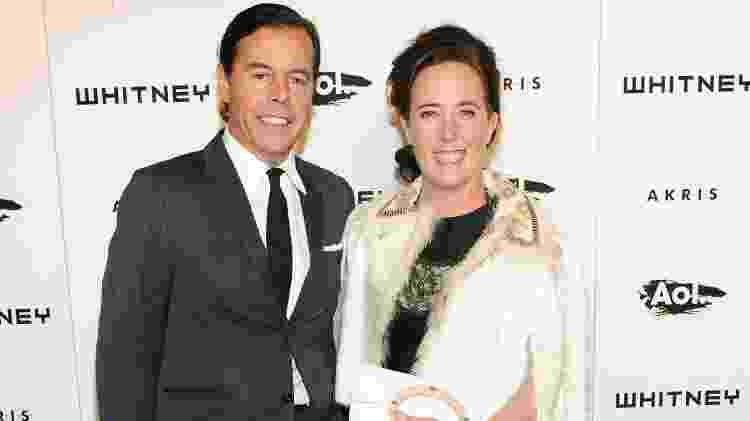 Andy e Kate Spade em um evento, em 2010 - Getty Images - Getty Images