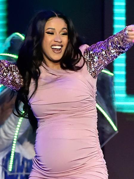 Cardi B durante a gravidez - Getty Images