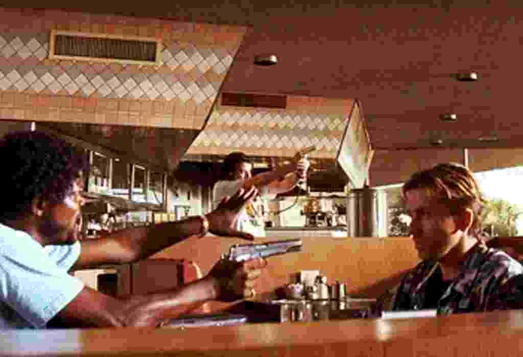 """Cena de """"Pulp Fiction: Tempo de Violência"""" (1994) - Reprodução"""