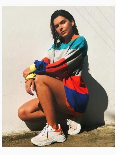 Mariana Gold usa daddy shoes - Reprodução/ Instagram