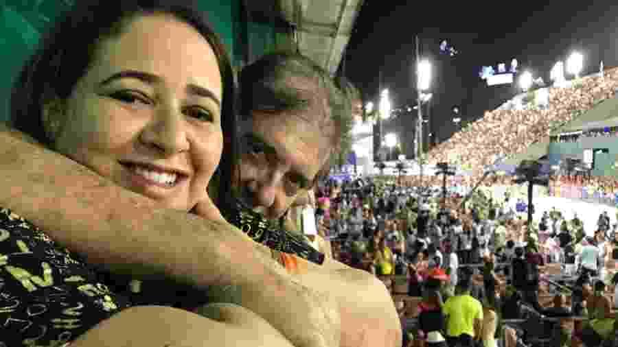 João de Deus e a mulher, Ana Keyla Teixeira - Divulgação