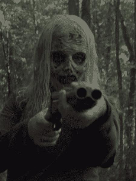 Alpha, a líder dos Sussurradores, promoveu massacre na série - Reprodução