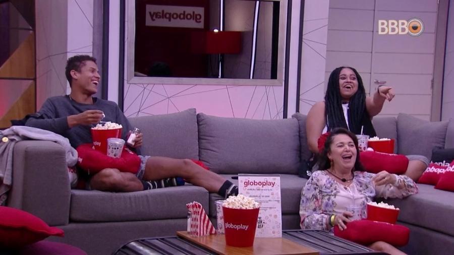 Brothers participam do cinema do líder desta semana - Reprodução/GloboPlay