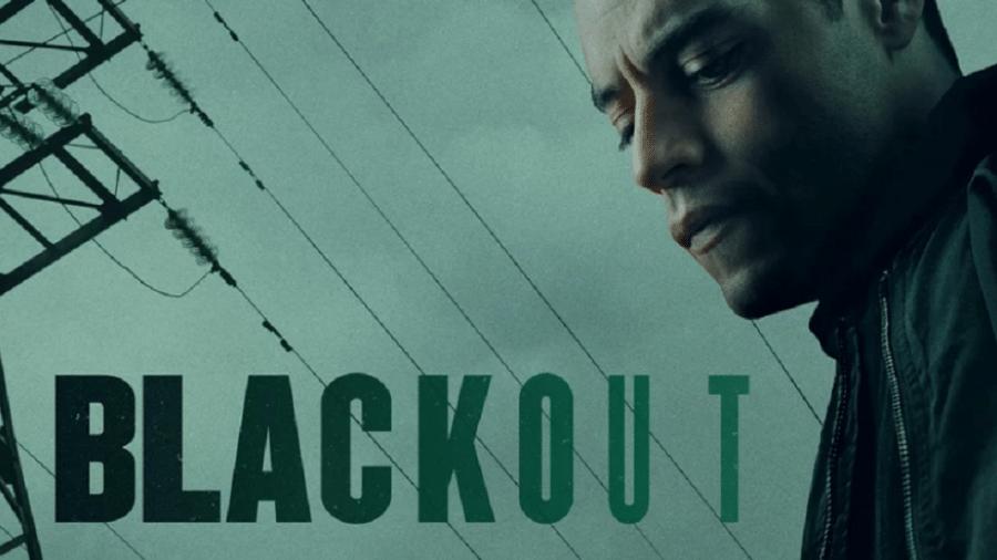 "Rami Malek em ""Blackout"" - Reprodução/EW"