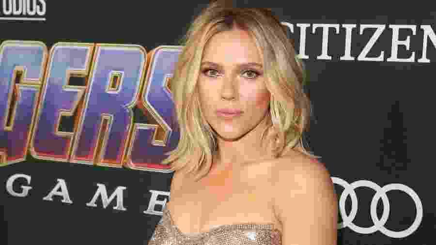"""Scarlett Johansson na pré-estreia de """"Vingadores: Ultimato"""" - Jesse Grant/Getty Images"""