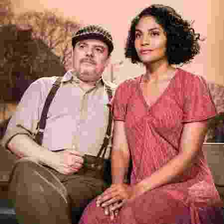 Cássio Gabus Mendes e Bárbara Reis  - Raquel Cunha/TV Globo - Raquel Cunha/TV Globo
