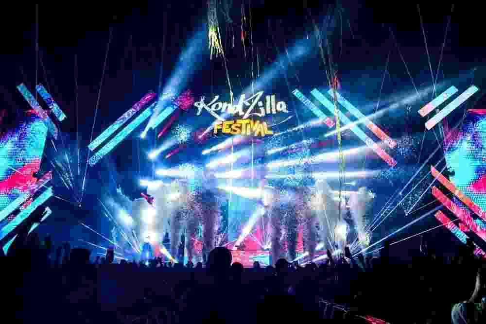 Aconteceu na noite de ontem e madrugada de hoje o primeiro KondZilla Festival, em São Paulo, com o funk embalando 20 mil pessoas - Leo Franco / Agnews