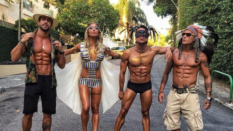 Erasmo Viana, Gabriela Pugliesi, Bruno Maffei e Rodrigo Lima - Reprodução/Instagram