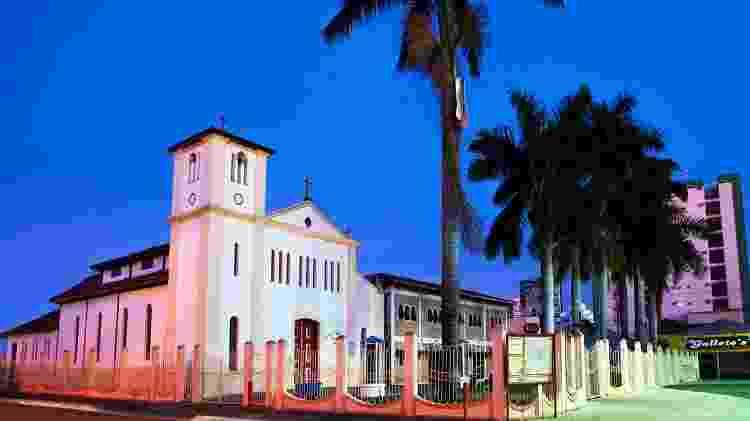 Igreja Matriz de Caldas Novas  - Luis Manoel Vasconcelos/Goiás Turismo - Luis Manoel Vasconcelos/Goiás Turismo