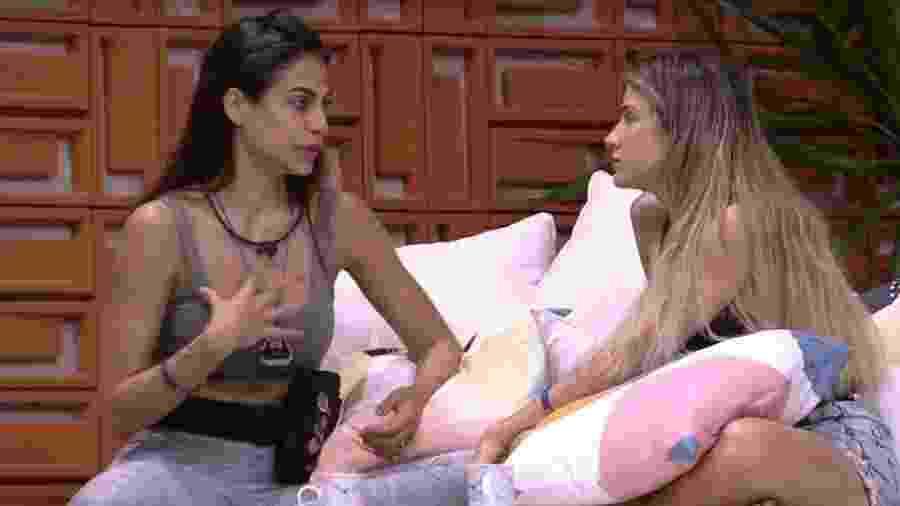 BBB 20: Mari e Gabi falam da briga das blogueiras - Reprodução/Globoplay