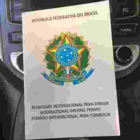 Permissão Internacional para Dirigir - Luciano Nagel/UOL - Luciano Nagel/UOL