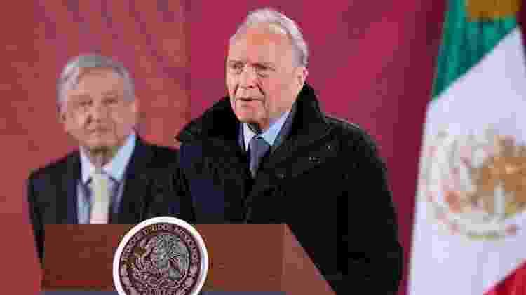 Procurador-geral Alejandro Gertz e presidente López Obrador falaram sobre feminicídios - Presidência do México - Presidência do México