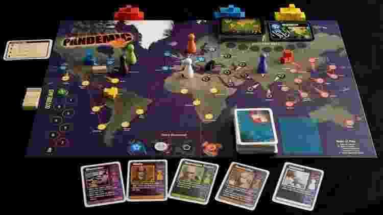 Pandemic Boardgame 2 - Divulgação/MercadoLivre - Divulgação/MercadoLivre