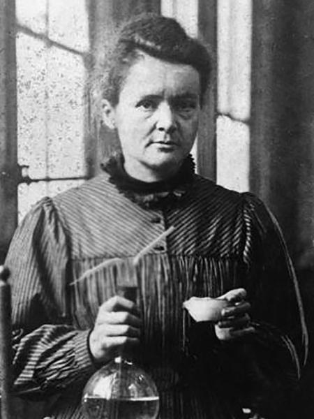 A cientista Marie Curie - Reprodução/History