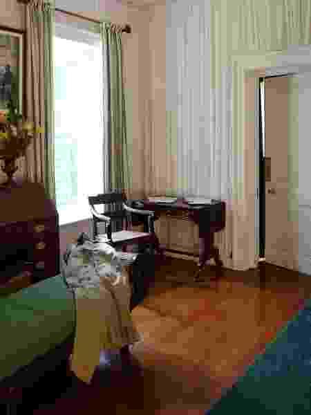 Interior da casa de Napoleão Bonaparte, em Santa Helena  - Saint Helena Napoleonic Heritage - Saint Helena Napoleonic Heritage