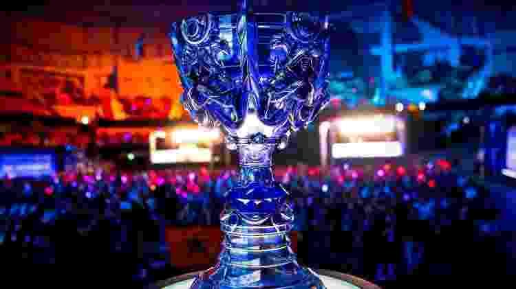 LoL Worlds Mundial Troféu - Reprodução/Reddit - Reprodução/Reddit
