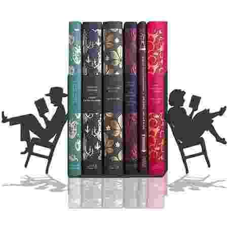 Suporte de livros Leitura a dois peculiartes - Divulgação - Divulgação
