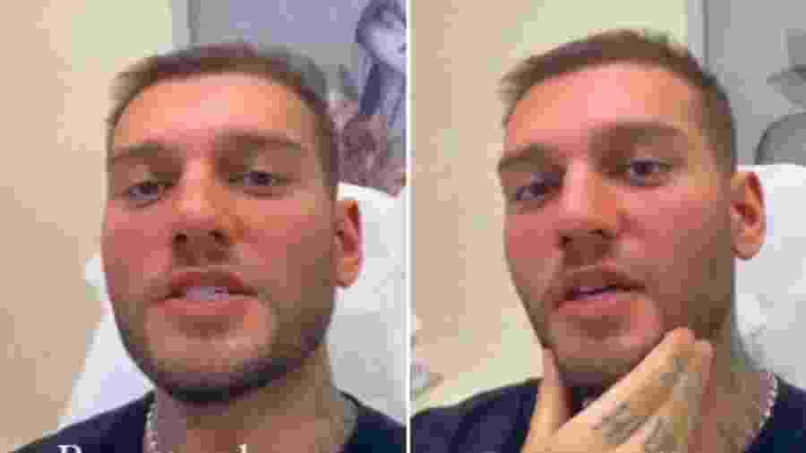 Lucas Lucco explica que nao gostou do resultao de harmonização facial - Reprodução/Instagram