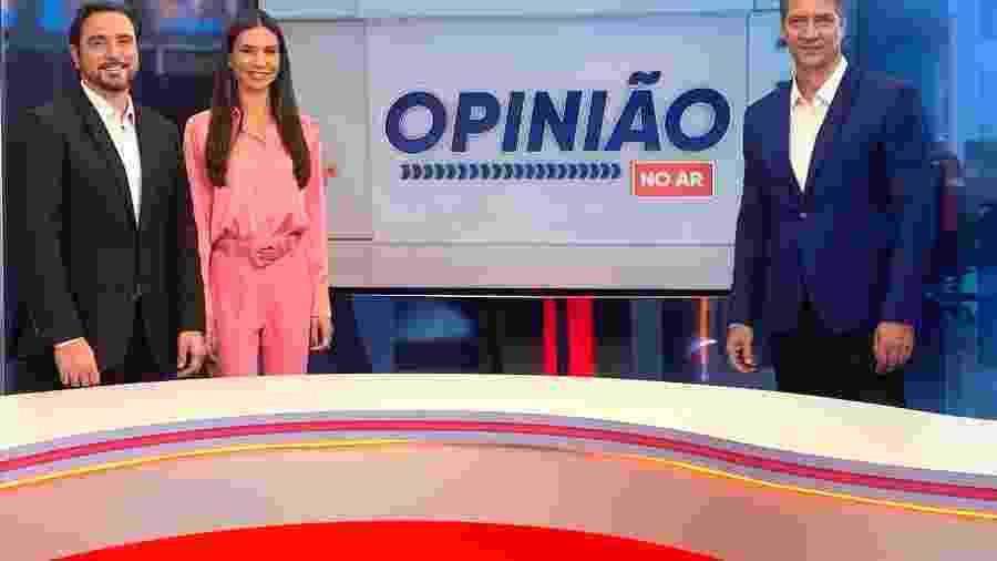 Lacombe comandará programa jornalístico diário com participações de Amanda Klein e Silvio Navarro na RedeTV! - Divulgação RedeTV!