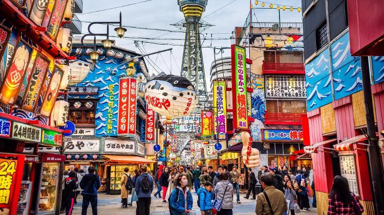 Osaka, no Japão - Getty Images - Getty Images