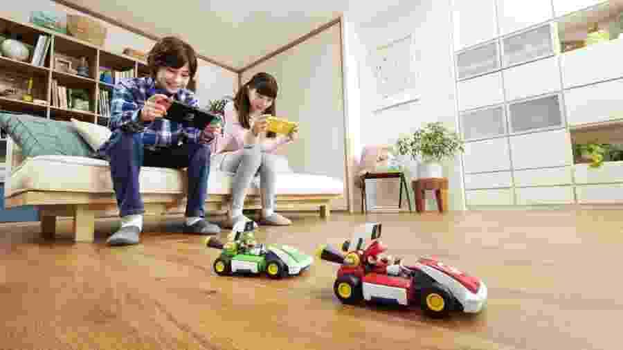 Mario Kart Live Nintendo Switch - Divulgação/Nintendo