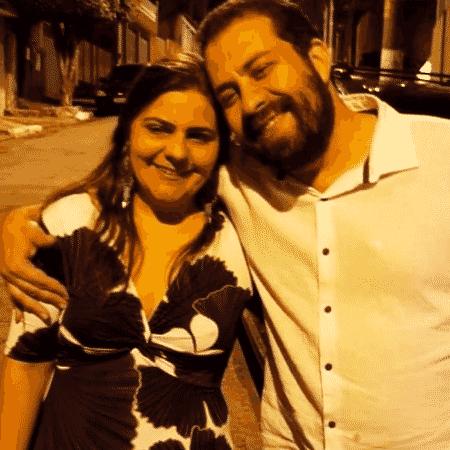 Natalia Szermeta e Guilherme Boulos - Acervo pessoal - Acervo pessoal
