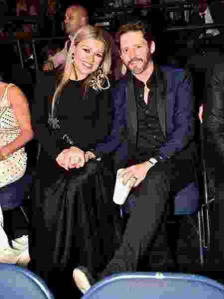 Kelly Clarkson e o ex-marido, Brandon Blackstock - Getty / Jeff Kravitz