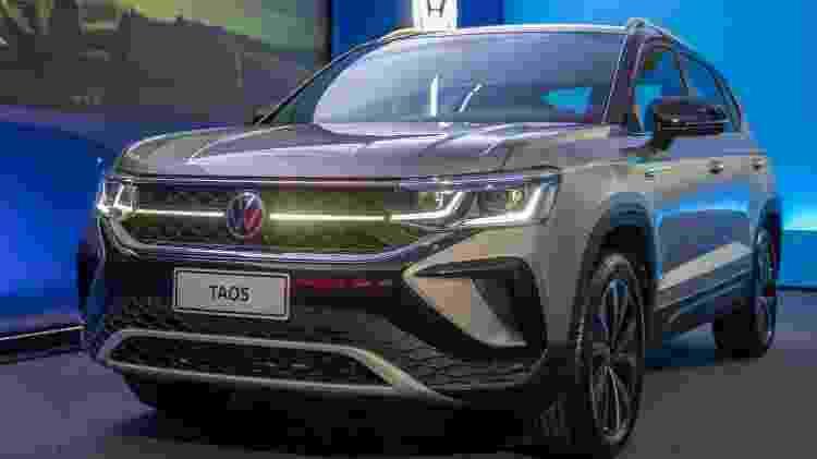 Volkswagen Taos - Marcos Camargo/UOL - Marcos Camargo/UOL