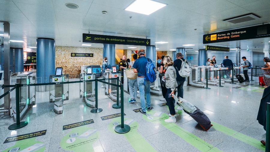 Aeroporto de Lisboa, em Portugal - Getty Images