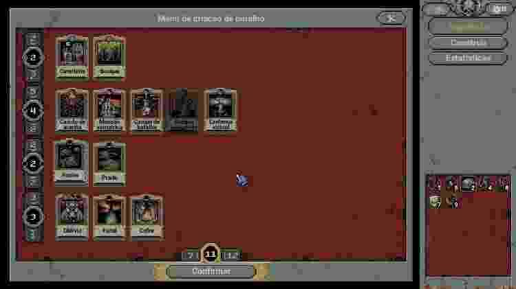 Loop Hero deck de cartas - Reprodução/START - Reprodução/START