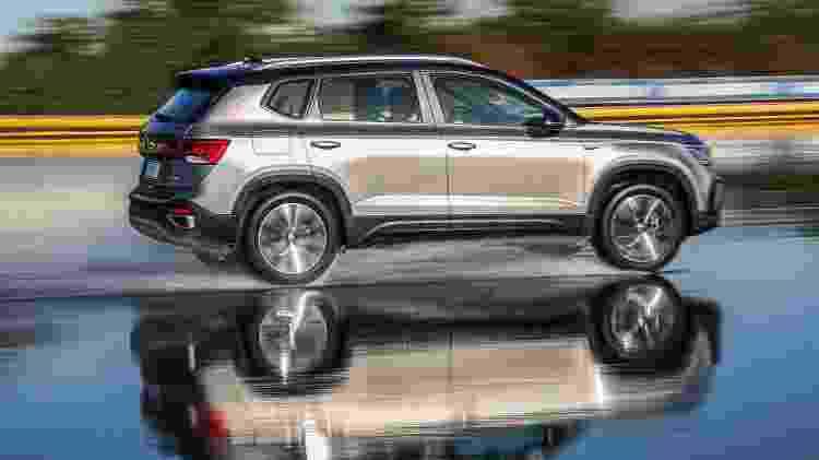 Volkswagen Taos 2022  - Divulgação  - Divulgação