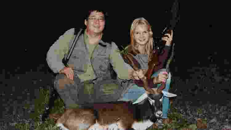 Marcos e Elize Matsunaga: casal tinha coleção de armas, que eram usadas em caças - Divulgação - Divulgação