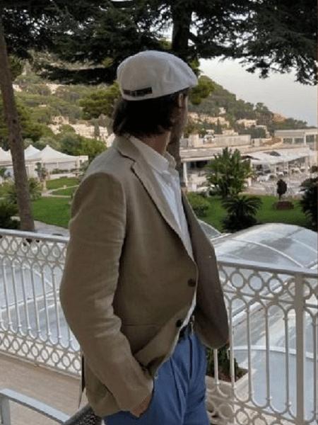 Filho de Faustão registra cliques em viagem pela Itália - Reprodução/Instagram
