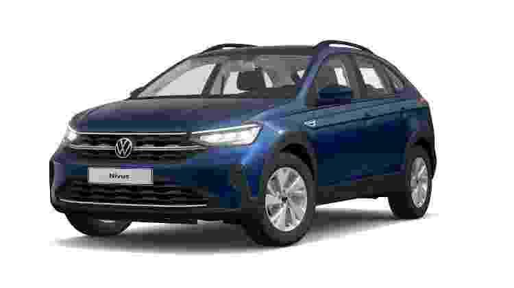 Volkswagen trabalha em SUV abaixo do Nivus (foto) que pode ser o sucessor do Gol atual - Divulgação - Divulgação