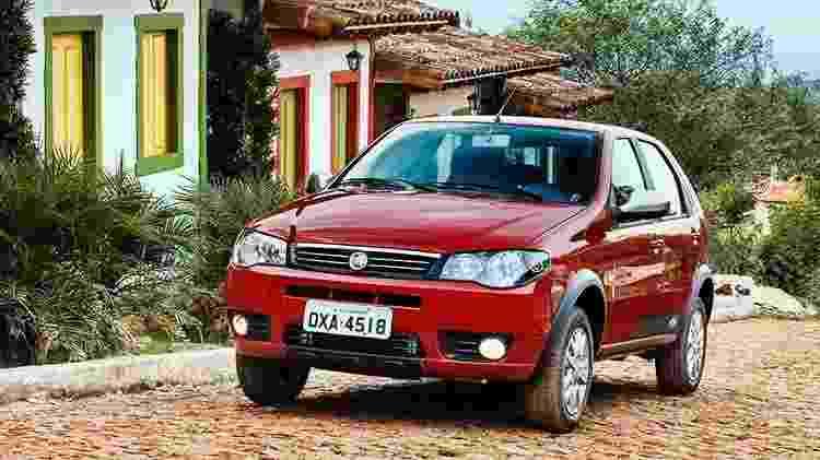 Fiat Palio Fire - Divulgação - Divulgação