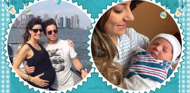 Hudson apresentar seu herdeiro, Davi, no Instagram oficial da dupla sertaneja