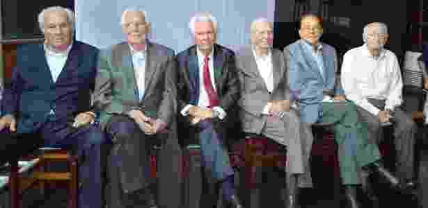 Os Independentes - seis integrantes dos fundadores da Festa do Peão de Barretos - Diego Rodrigues/Divulgação - Diego Rodrigues/Divulgação