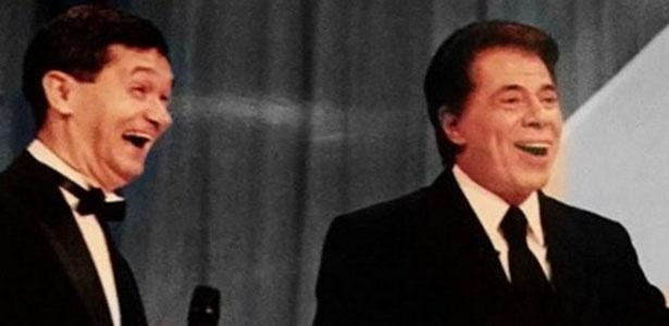Serginho Groisman parabeniza Silvio Santos, que completa 85 anos