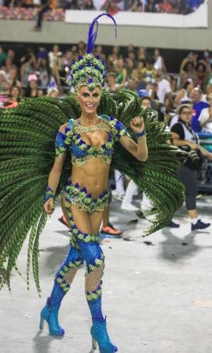 Renata Kuerten, musa da Grande Rio
