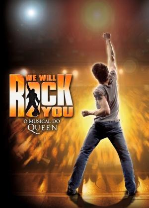 """Cartaz do musical """"We Will Rock You"""" - Divulgação"""