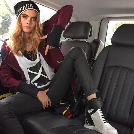 A modelo Cara Delevingne - Reprodução/Instagram