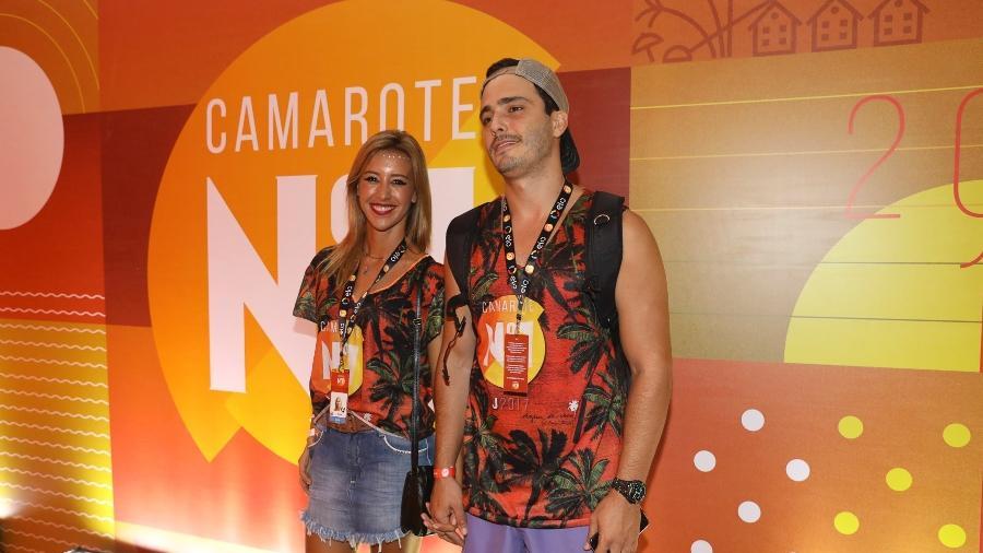 Cris Dias e Thiago Rodrigues - Divulgação/CamaroteN1