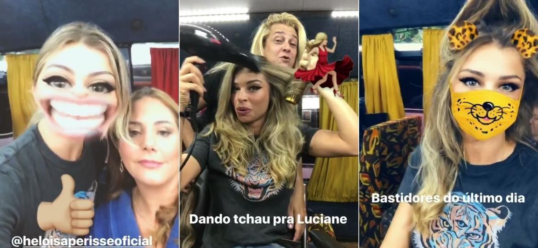 """Grazi Massafera brinca em último dia de gravação de """"A Lei do Amor"""" - Reprodução/Instagram/massafera"""