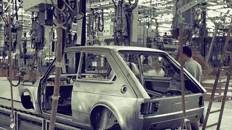 Fiat 147 linha de montagem 1080i - Divulgação - Divulgação