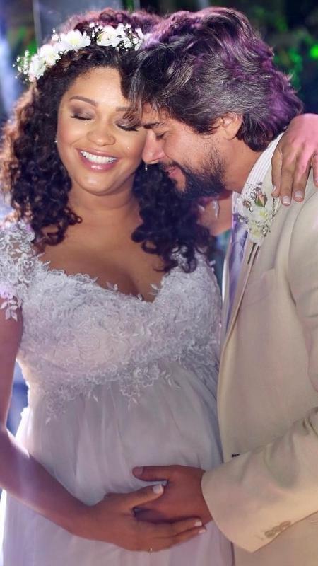 Juliana Alves e Ernani Nunes se casam em Guaratiba - Reprodução/Instagram/julianaalvesiam