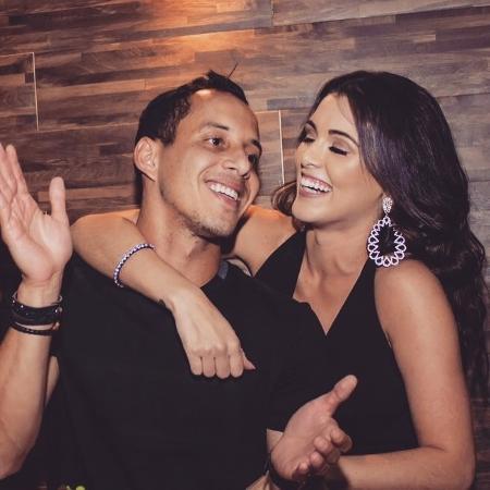 Fernanda Batista, bailarina do Faustão, namora Rodriguinho, jogador do Corinthians - Reprodução/Instagram/fernandagbatista