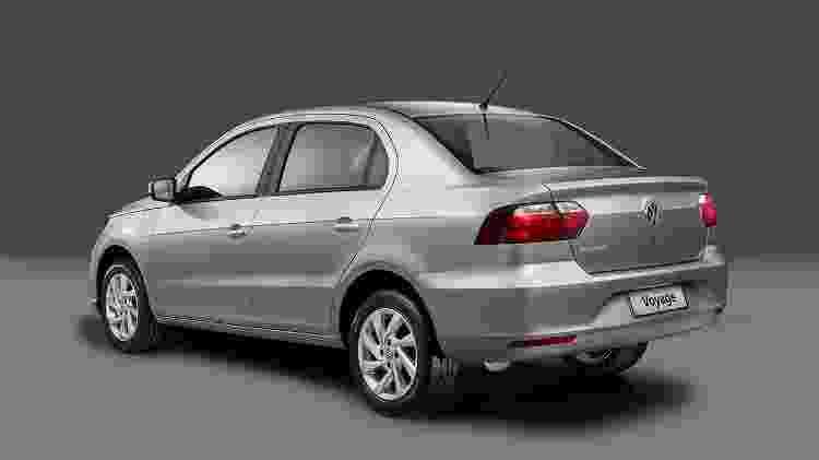 Volkswagen Voyage 2019 2 - Divulgação - Divulgação