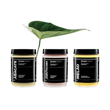 Os hidratantes da marca brasileira Simple Organic - Reprodução Instagram